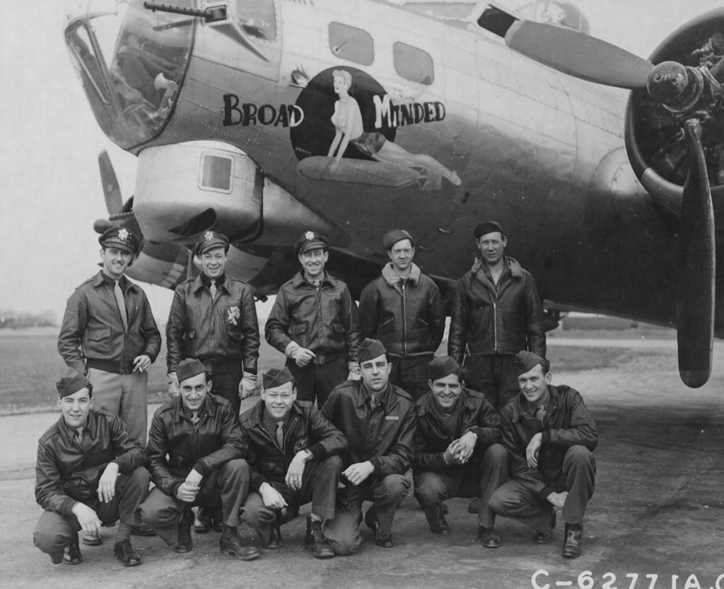 B-17 #44-8429 / Broad Minded