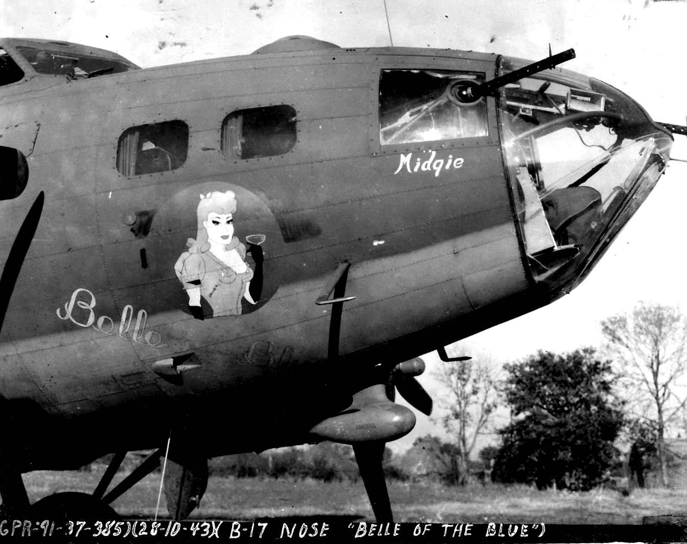B-17 #42-30094 / Belle of the Blue