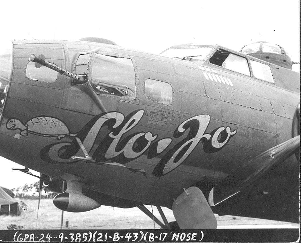B-17 #42-30168 / Slo-Jo