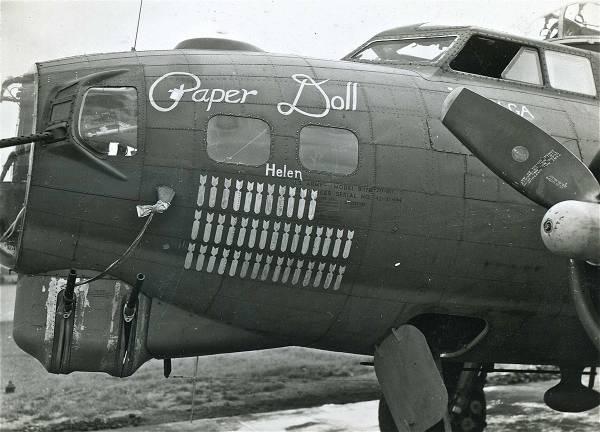 B-17 #42-31444 / Paper Doll