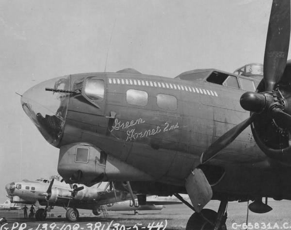 B-17 #42-31550 / Green Hornet 2nd