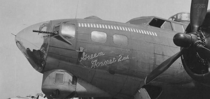 Boeing B-17 #42-31550 / Green Hornet 2nd