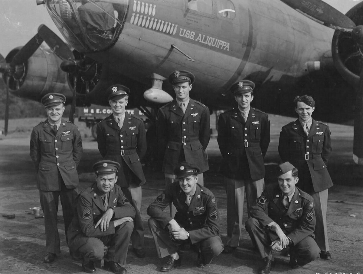 B-17 #42-3184 / USS Aliquippa