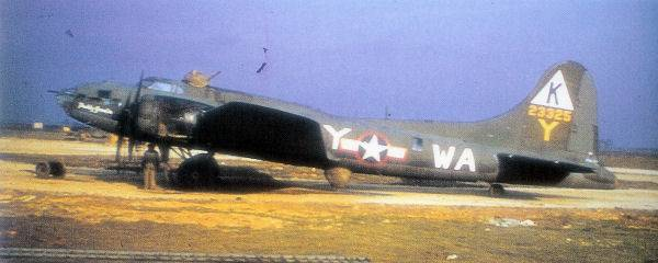 B-17 #42-3325 / Paddy Gremlin