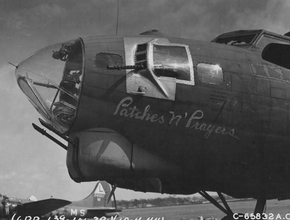 B-17 #42-37733 / Patches n' Prayers