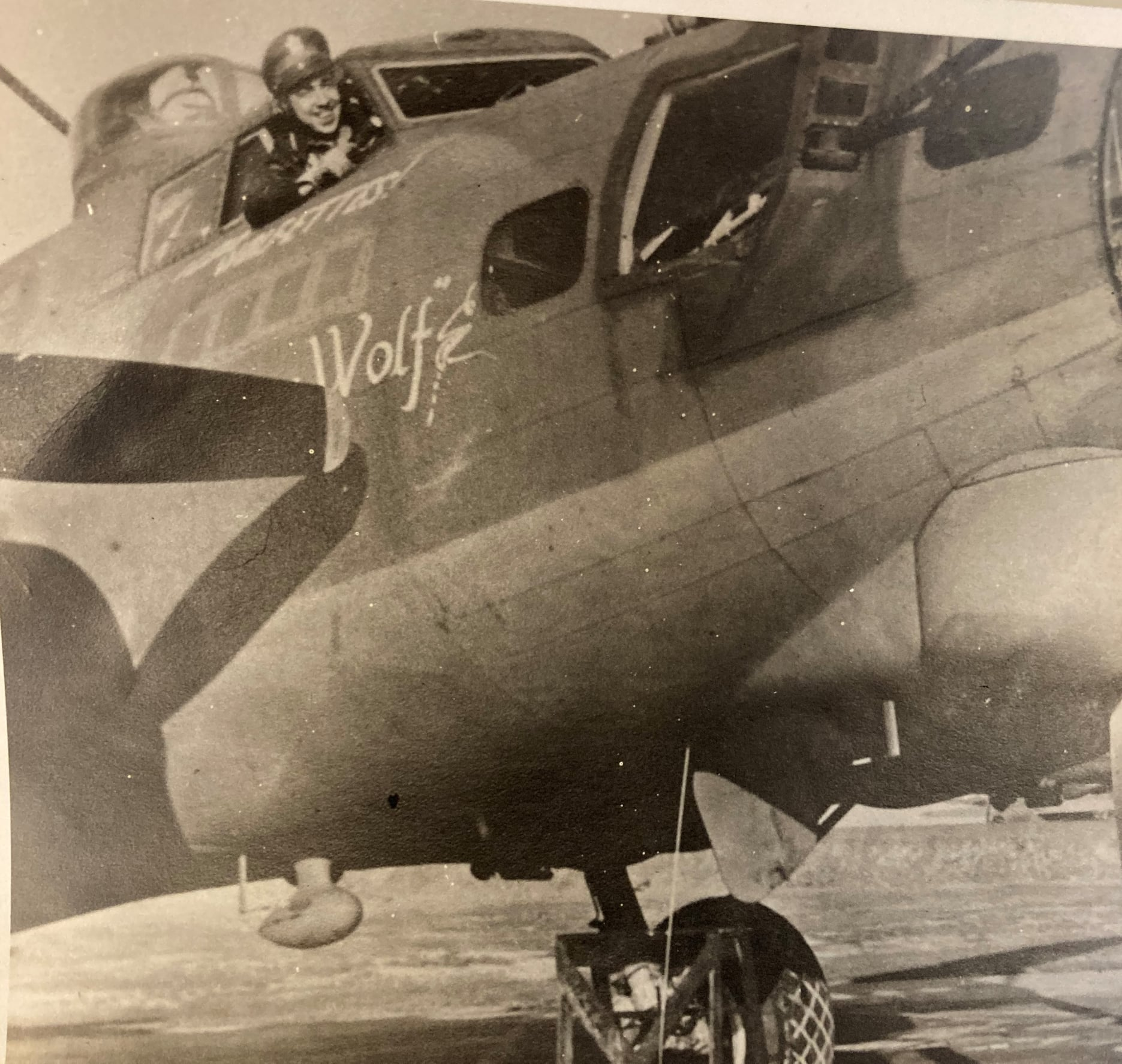 B-17 #42-39803 / The Wolf