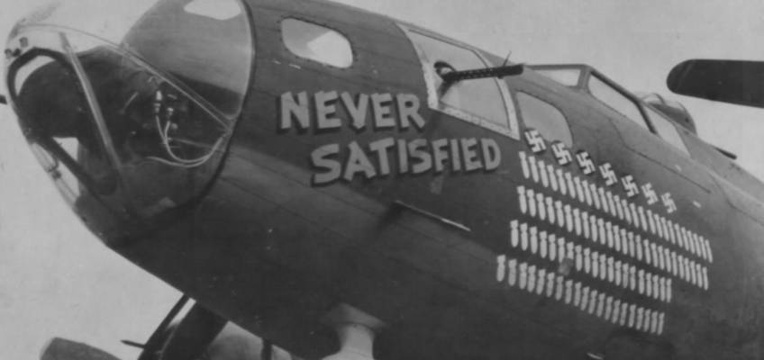Boeing B-17 #42-5388 / Never Satisfied