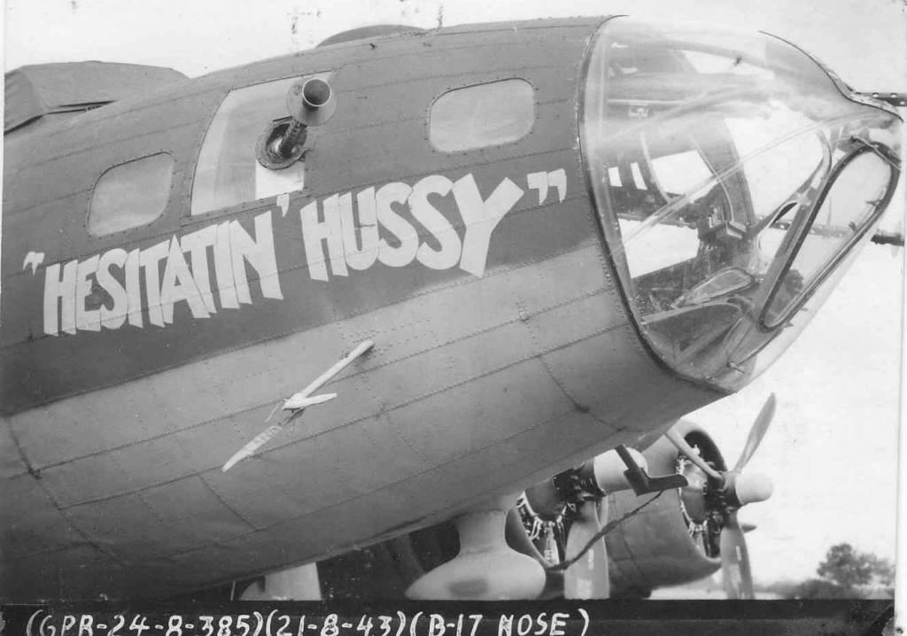 B-17 #42-5911 / Hesitatin' Hussy