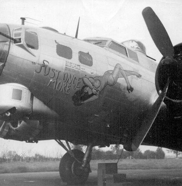 B-17 #44-8854 / Just Once More