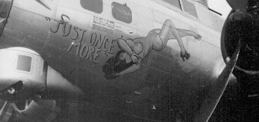 Boeing B-17 #44-8854 / Just Once More