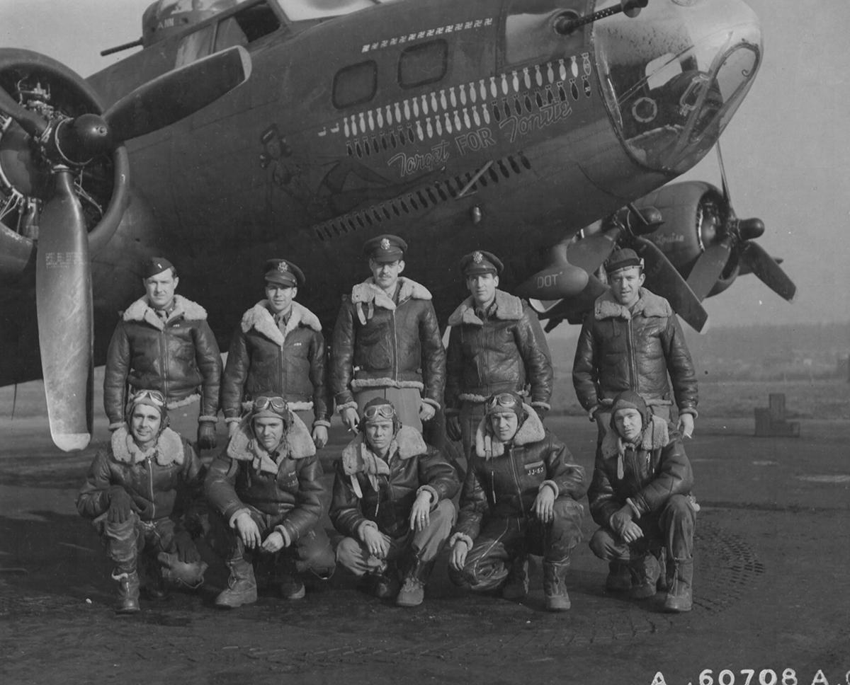 B-17 #41-24615 / Target For Tonite