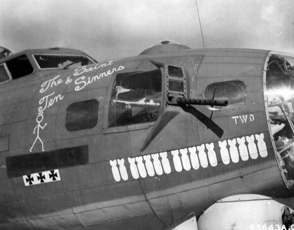 B-17 #42-31226 / The Saint and Ten Sinners