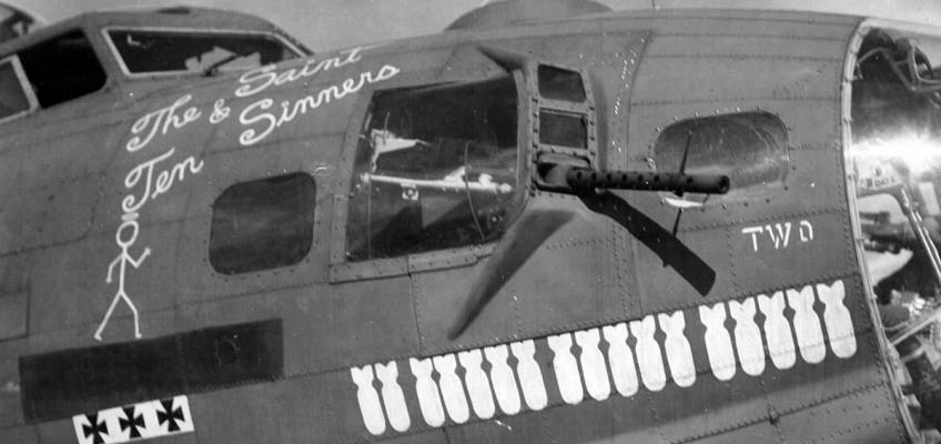 Boeing B-17 #42-31226 / The Saint and Ten Sinners