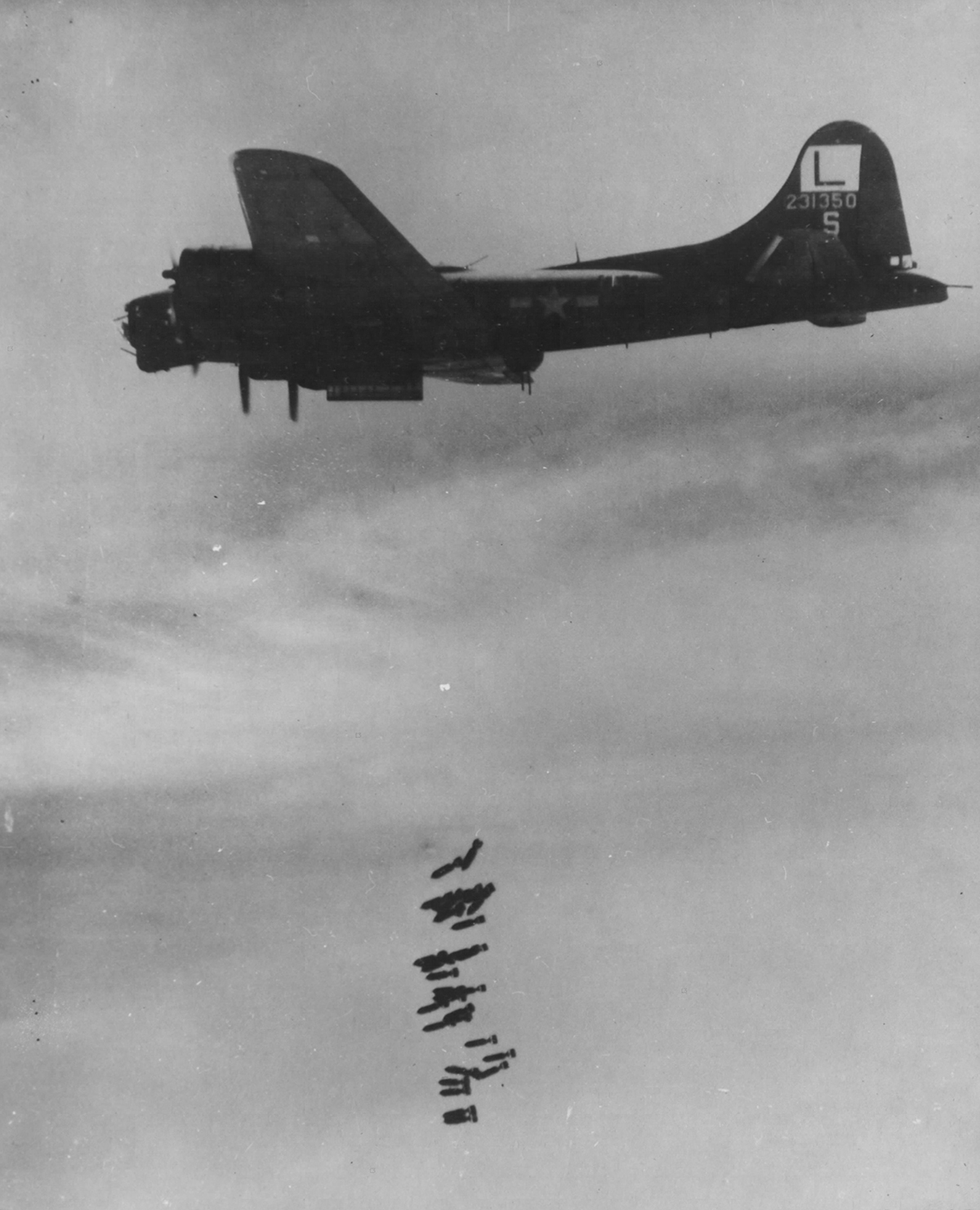 B-17 #42-31350 / Merry On