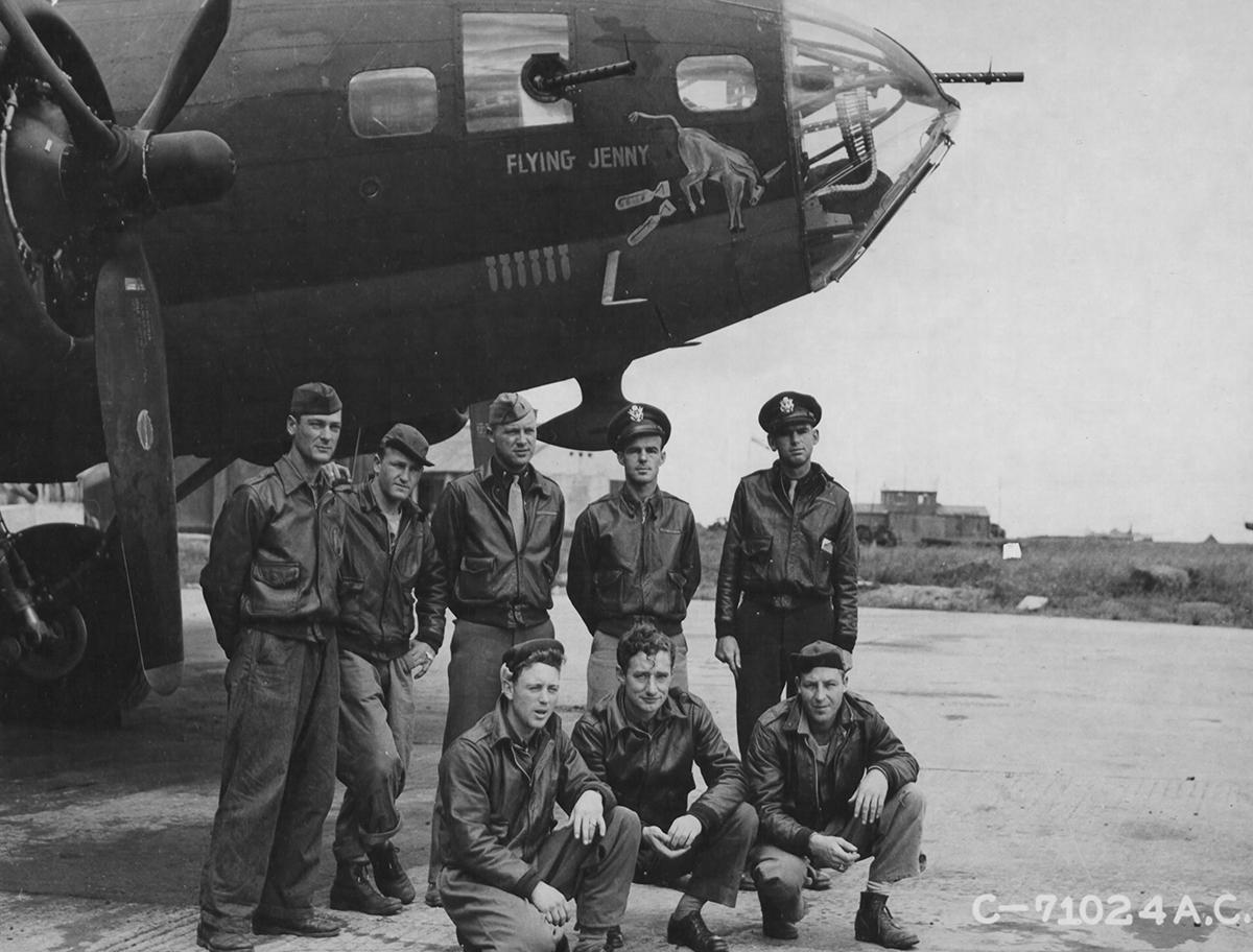 B-17 #42-5829 / The Better Half aka Flying Jenny