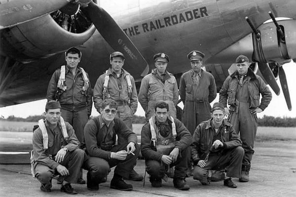 B-17 #42-97357 / The Railroader