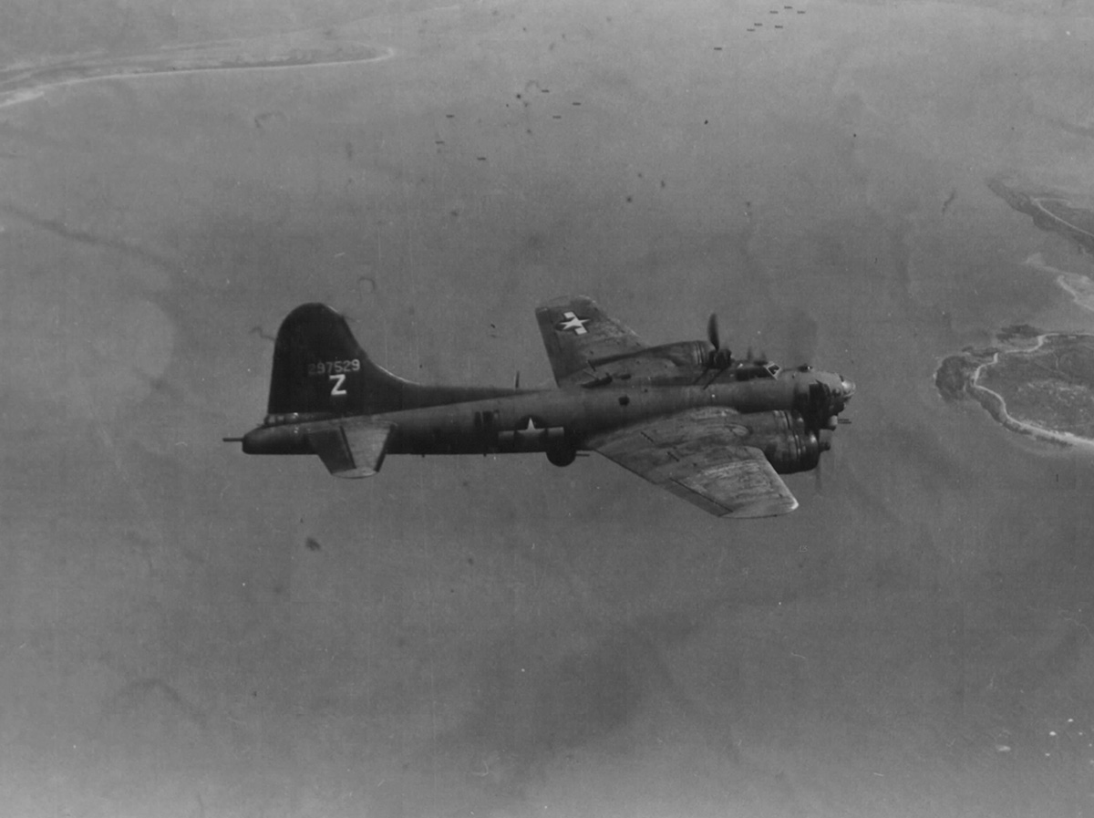 B-17 #42-97529 / Dinah Might II