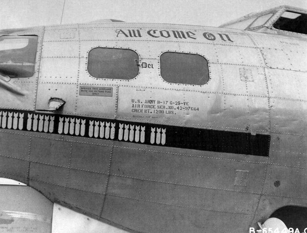 B-17 #42-97664 / Aw Come On