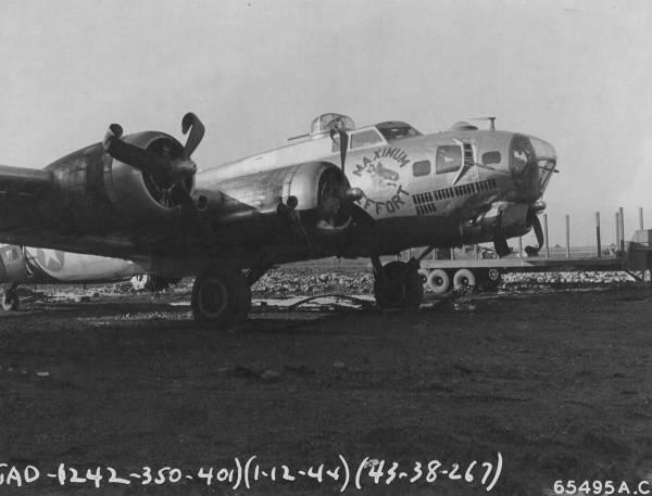 B-17 #43-38267 / Maximum Effort