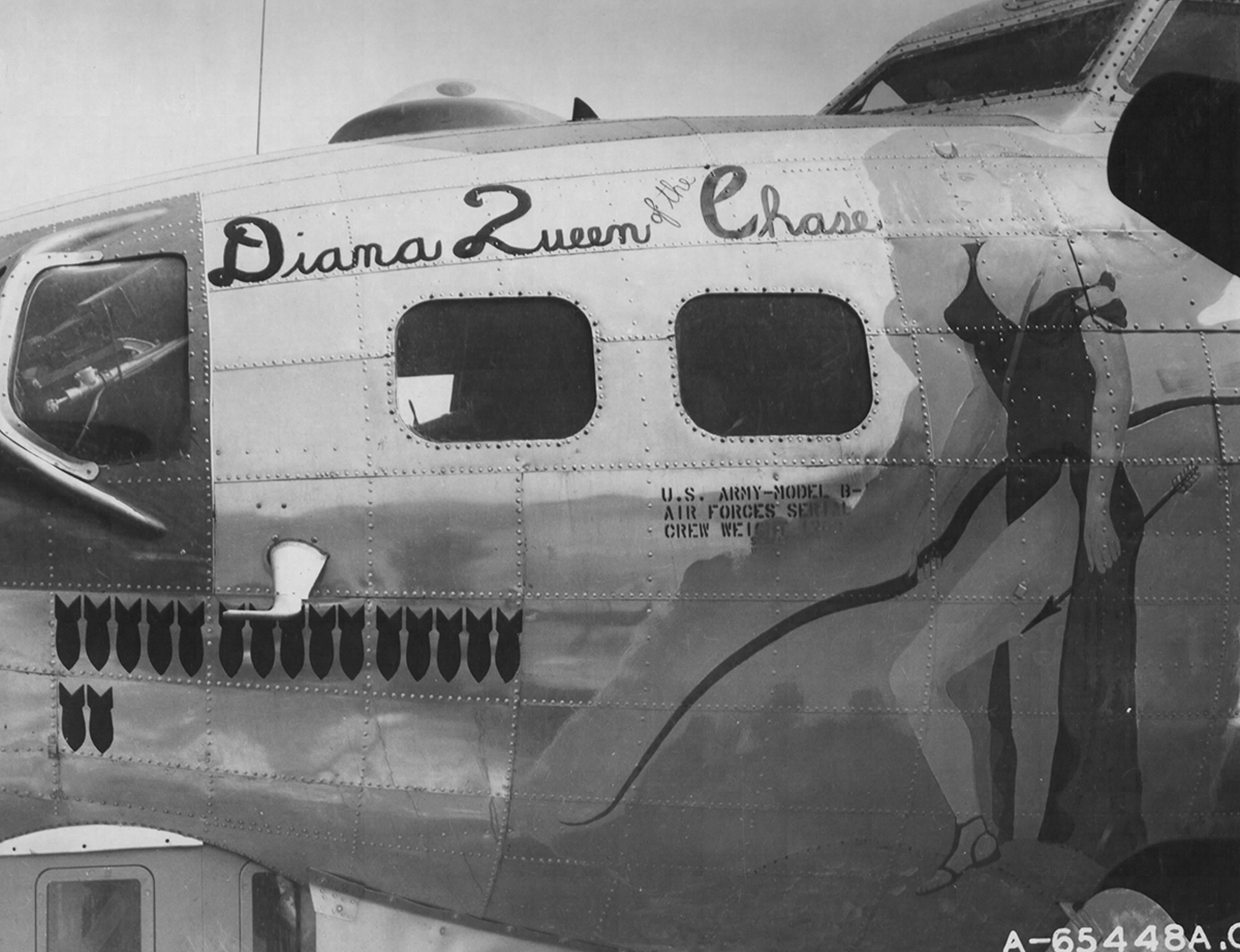 B-17 #42-102393 / Diana Queen of the Chase