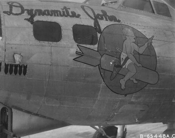 B-17 #42-102398 / Dynamite John