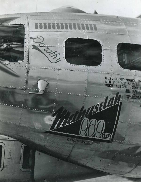 B-17 #42-102969 / Methuselah