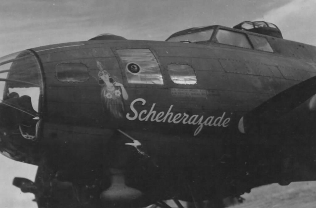 B-17 #42-29886 / Scheherazade