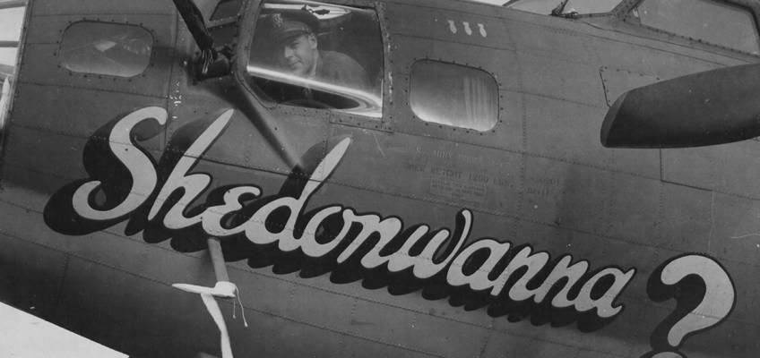 Boeing B-17 #42-30201 / Shedonwanna?