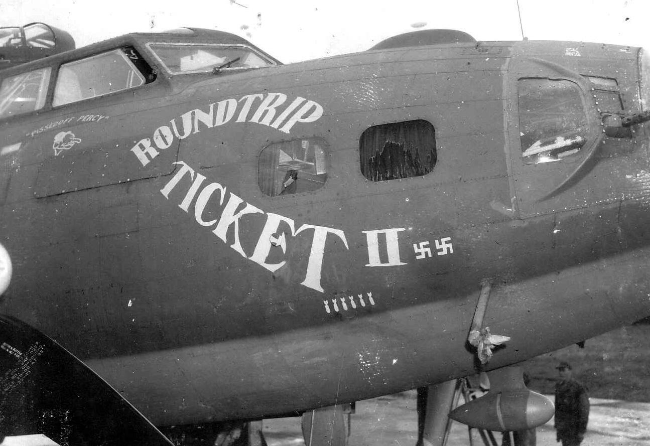 B-17 #42-30414 / Roundtrip Ticket II