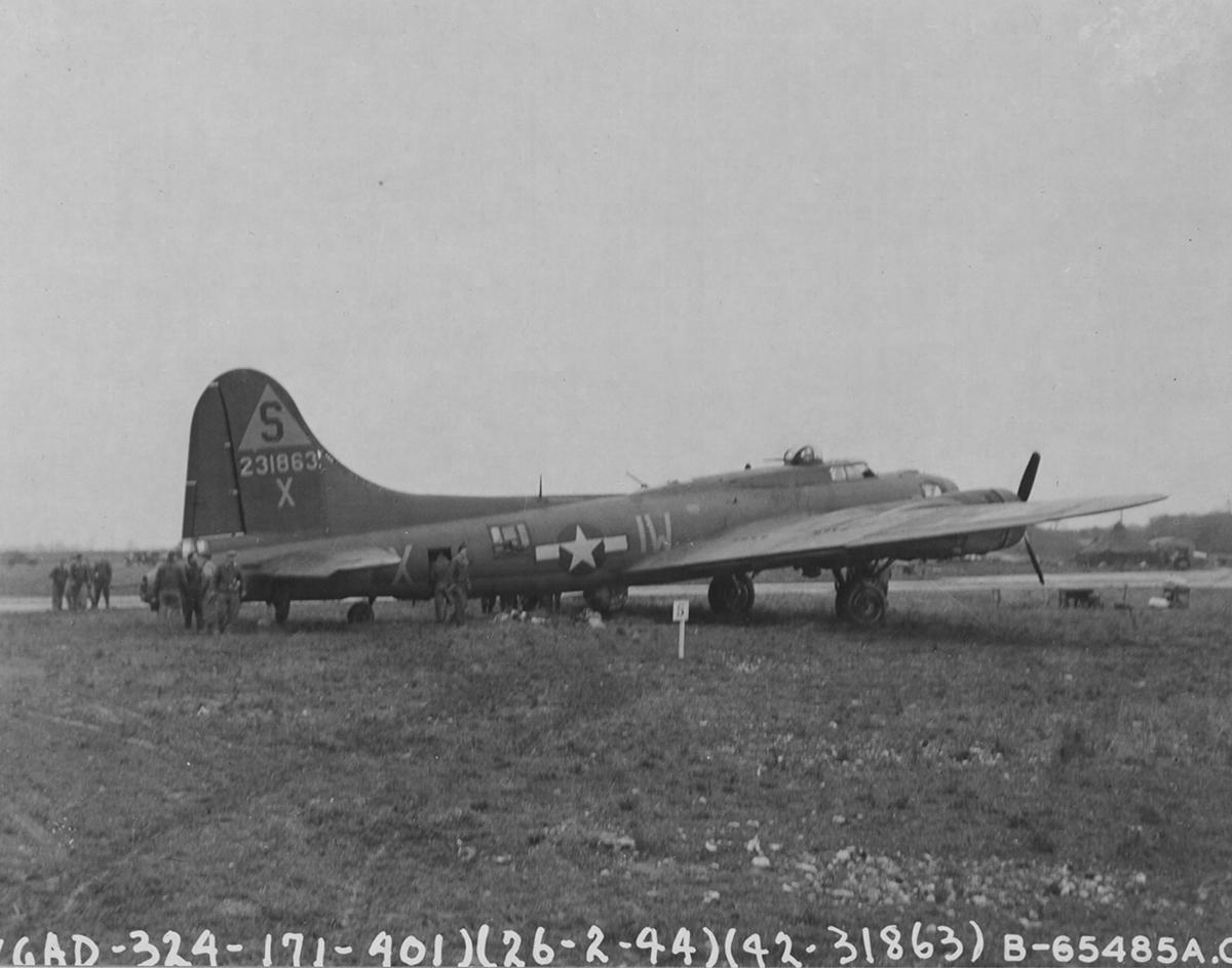B-17 #42-31863 / Miss 'B' Haven
