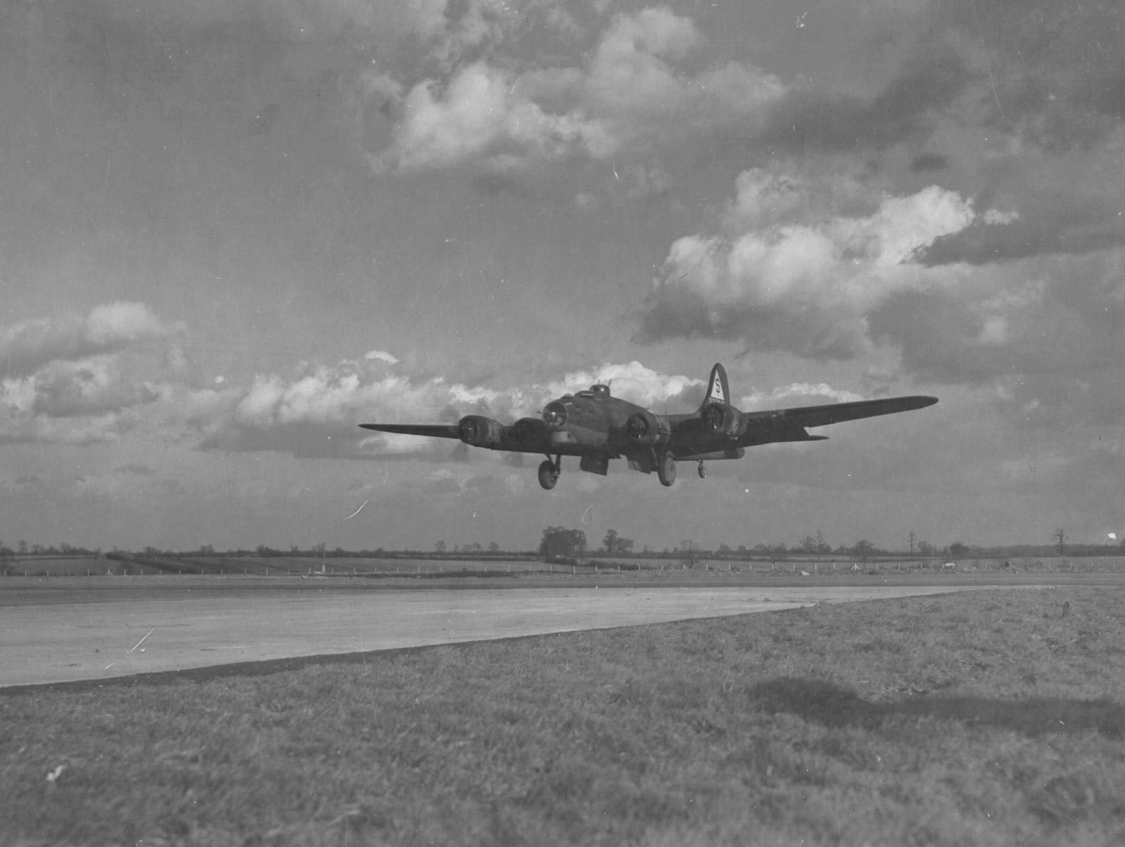 B-17 #42-37843 / Dry Run