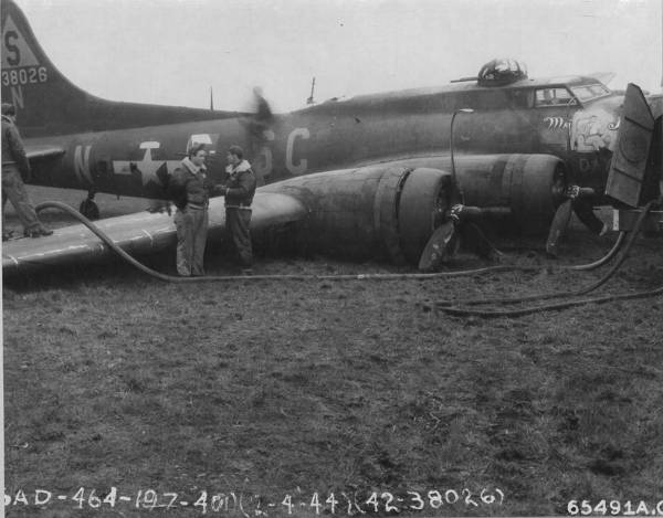 B-17 #42-38026 / My Day aka Sad Sack