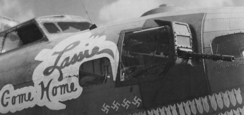 Boeing B-17 #42-39943 / Lassie Come Home