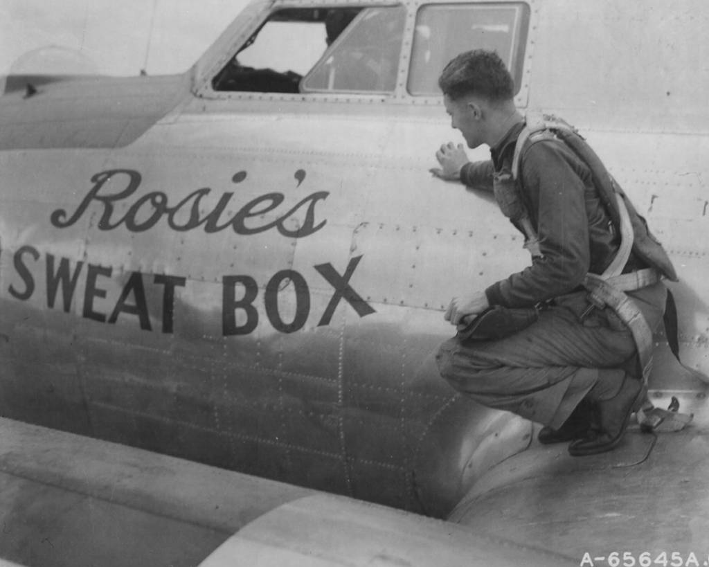 B-17 #42-97872 / Rosie's Sweat Box