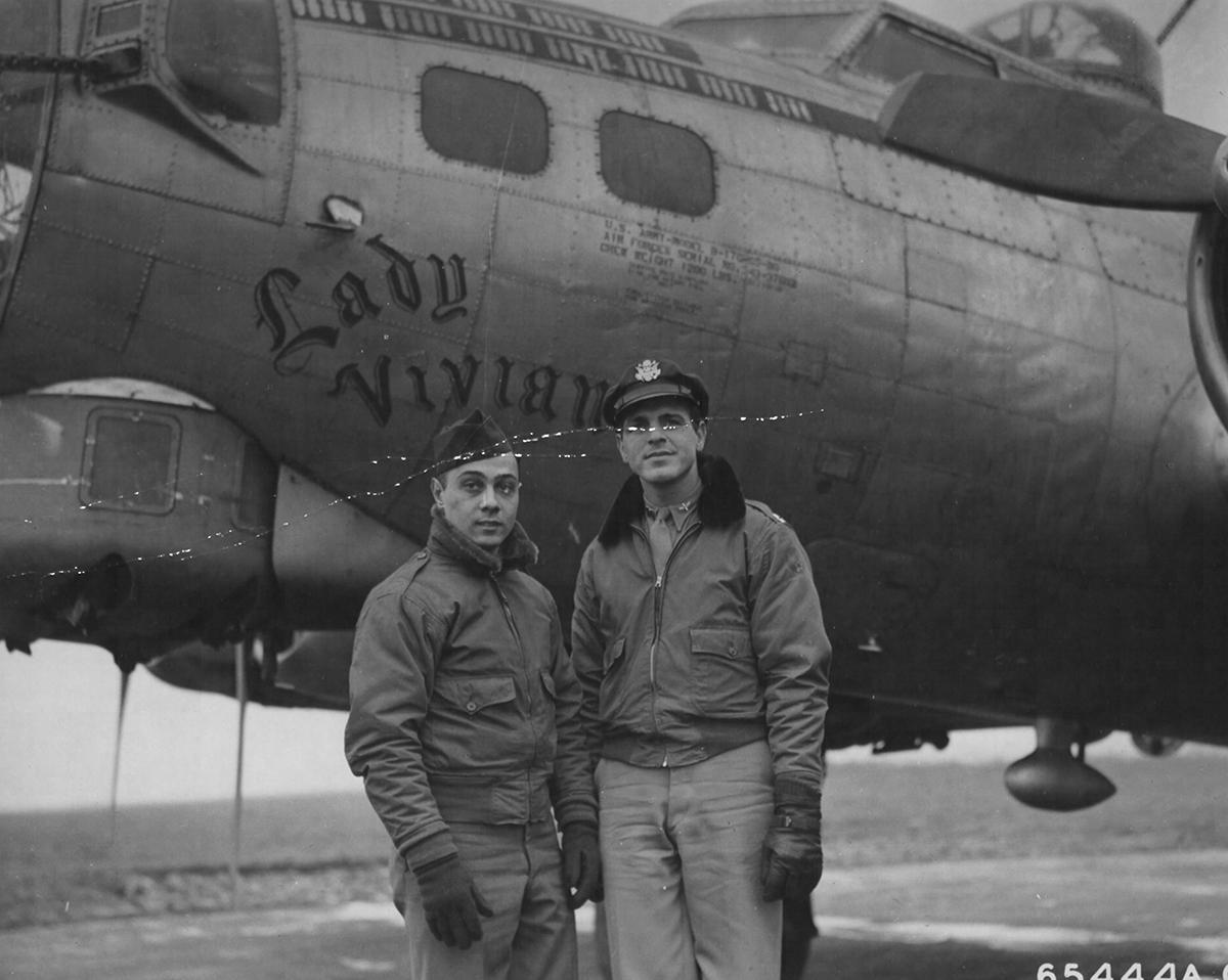 B-17 #43-37602 / Lady Vivian