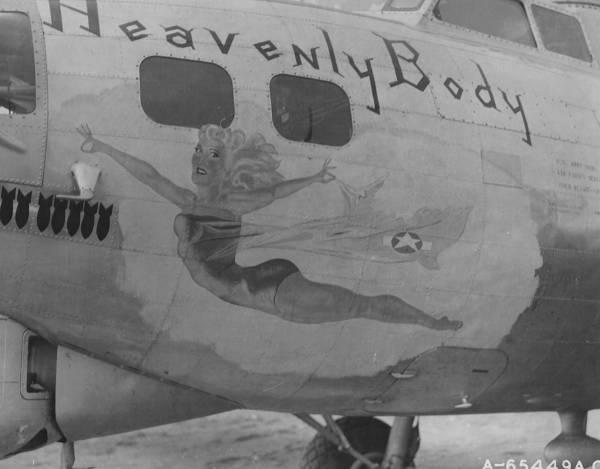 B-17 #43-37628 / Heavenly Body