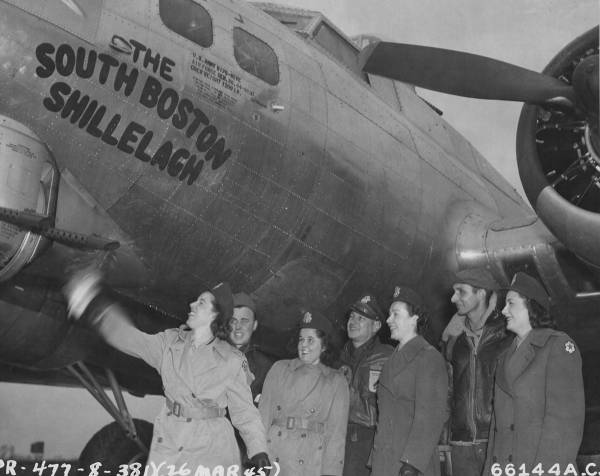B-17 #44-8830 / The South Boston Shillelagh