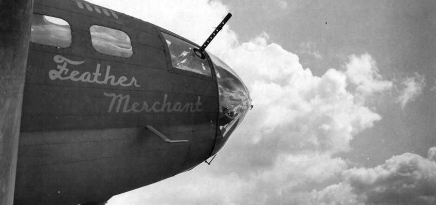 Boeing B-17 #42-30009 / Feather Merchant