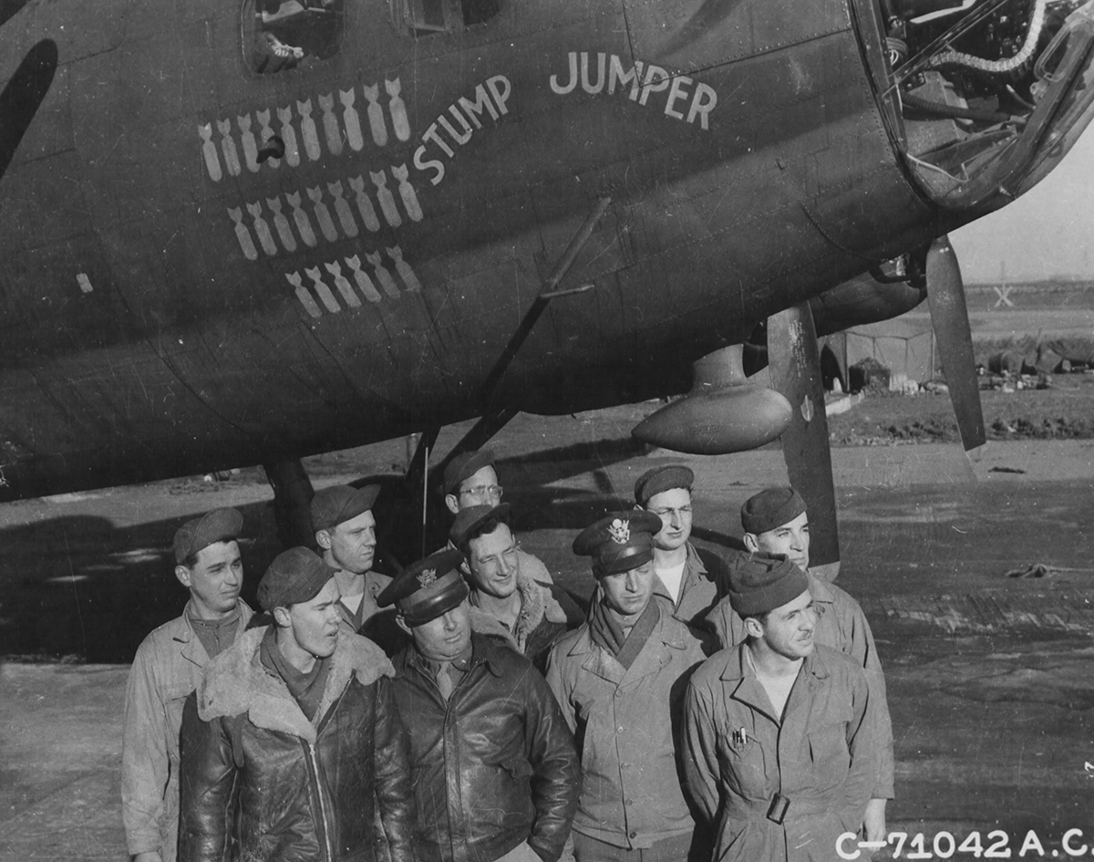 B-17 #42-30237 / Stump Jumper