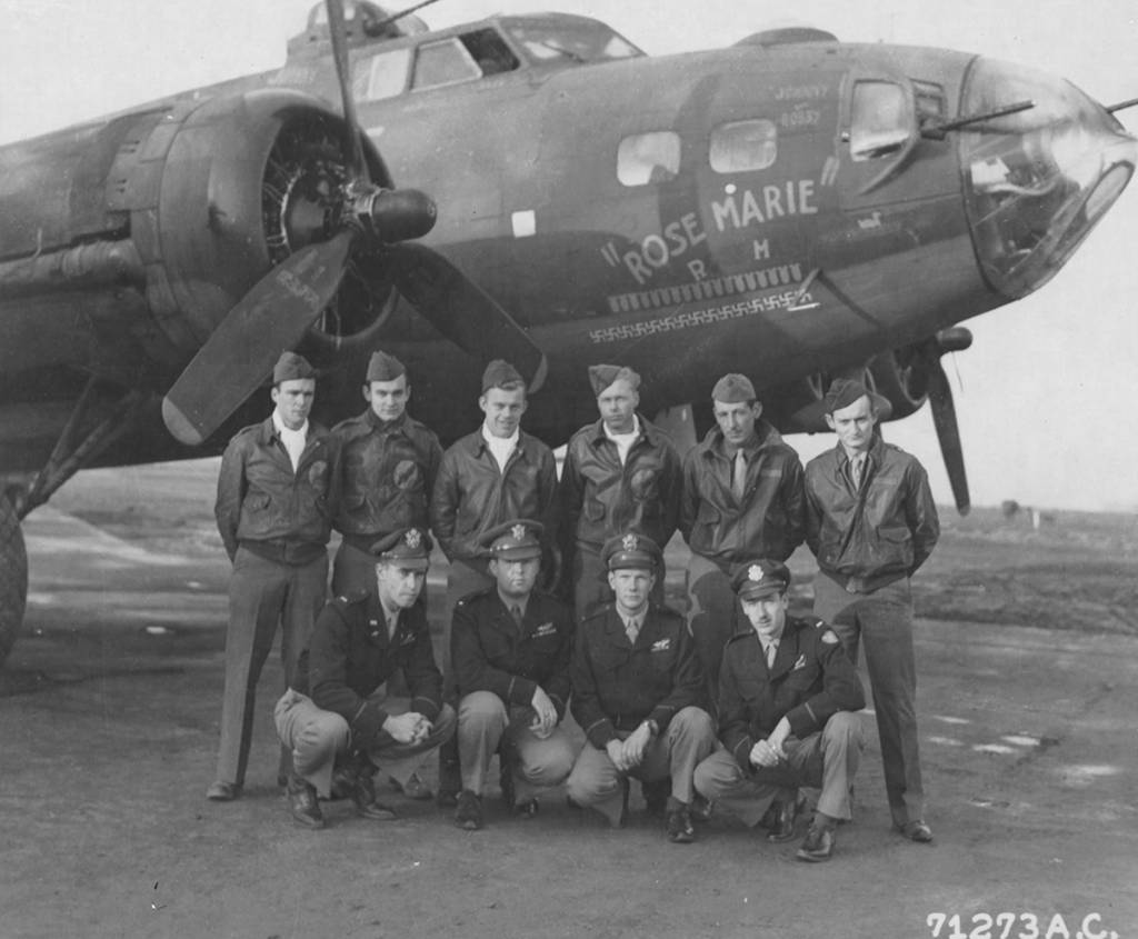 B-17 #42-30411 / Rose Marie aka Hot Rocks II