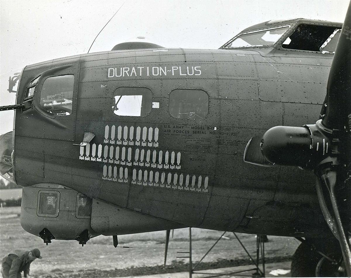 B-17 #42-31726 / Duration Plus