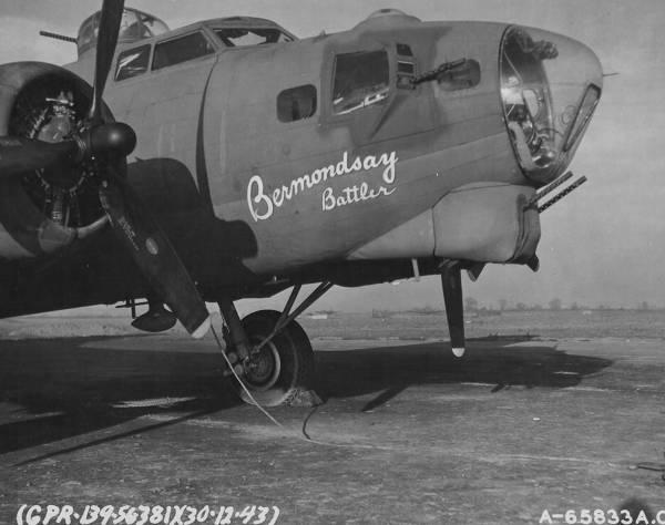 B-17 #42-39895 / Bermondsay Battler