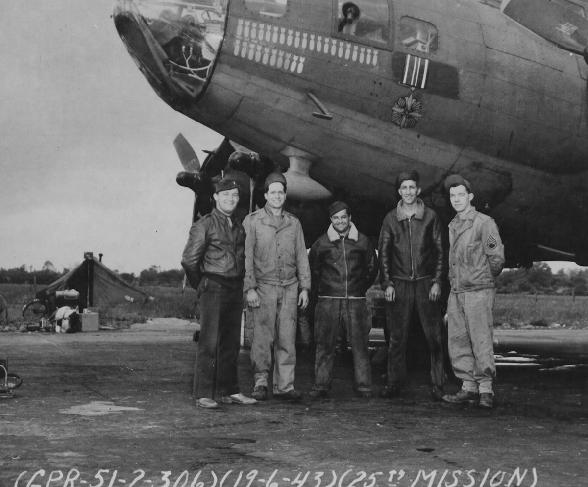 B-17 #42-5180 / DFC