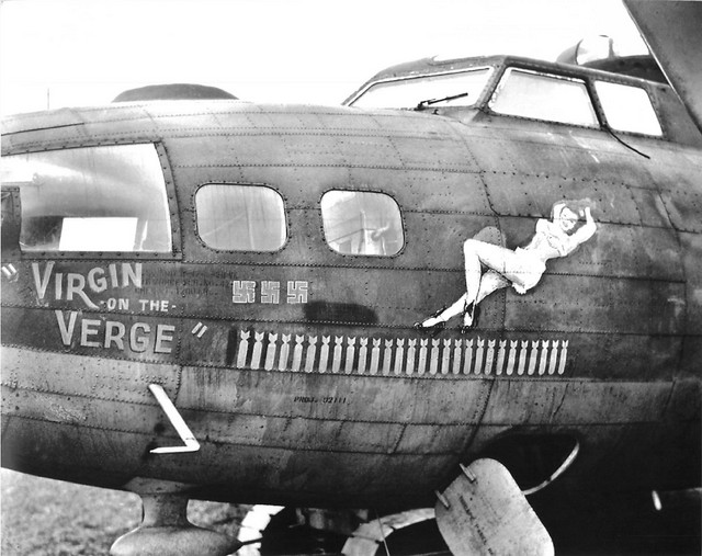 B-17 #42-5900 / Virgin On The Verge