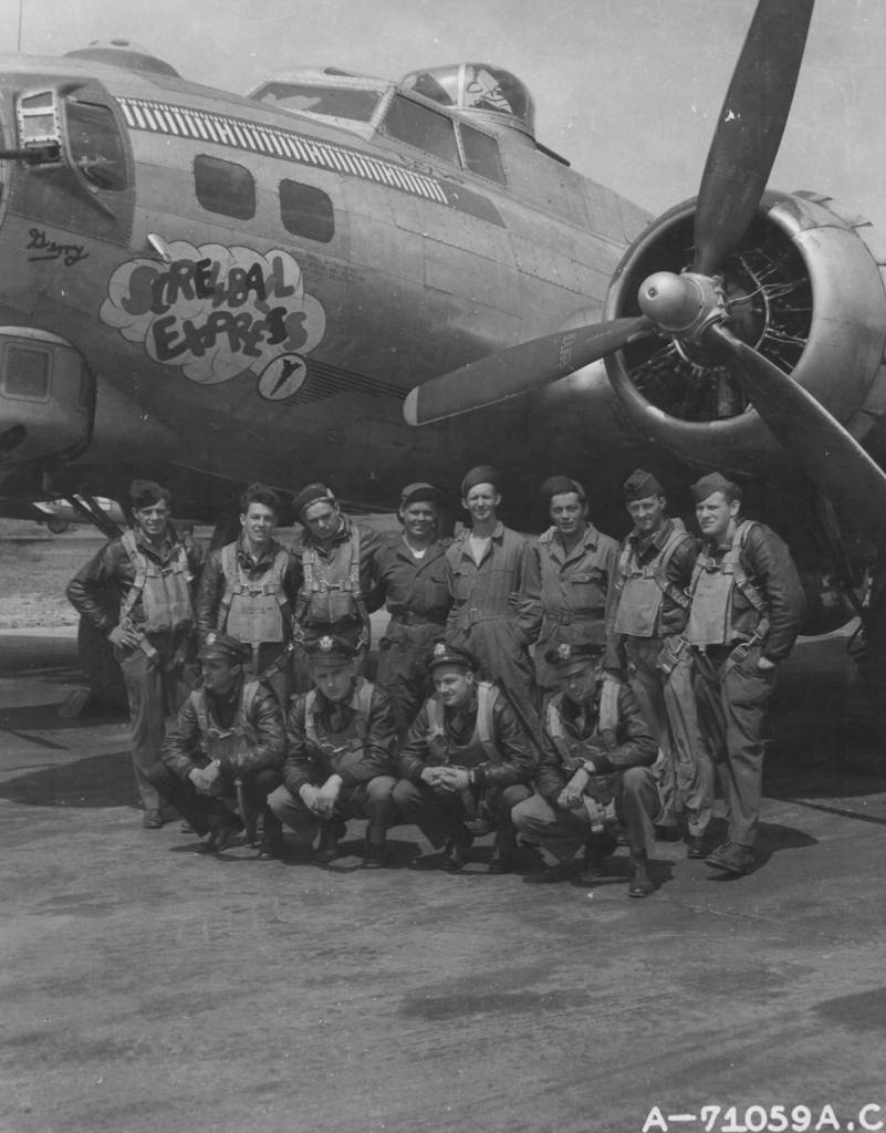 B-17 #42-97128 / Screwball Express