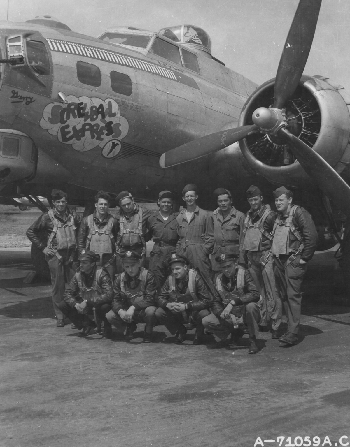 B-17 #42-97128 / Screwball Express