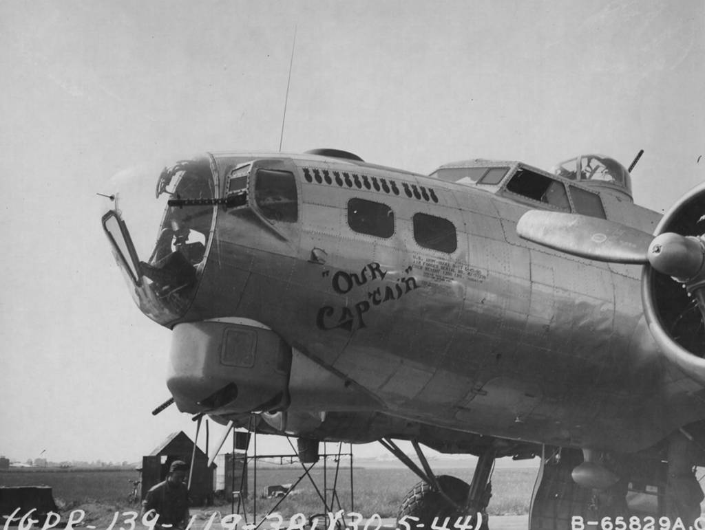 B-17 #42-97238 / Our Captain