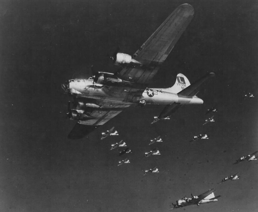 B-17 #42-97256 / Big Time Operator