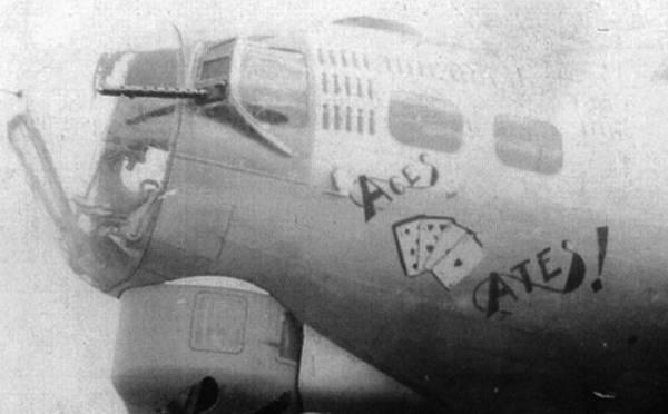 B-17 #42-97273 / Aces & Ates