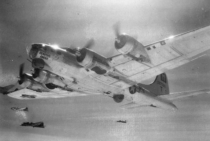 B-17 #42-97328 / Heaven's Above